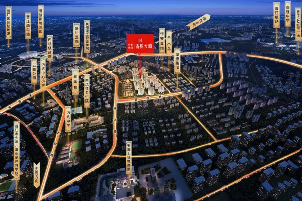 世茂保利香槟云城位置图