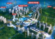 禹洲城市广场鸟瞰全景效果图