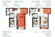 世茂福缘居复式123㎡四房两厅两卫