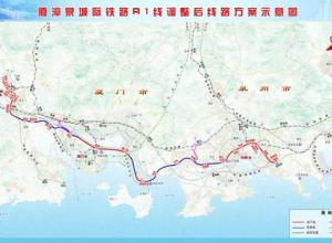 重磅!总投资808亿!厦漳泉城际轨道R1线正式报建!