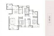 世茂天成二期洋房户型139m²