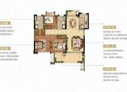 世茂海上世界101㎡户型 三房两厅两卫