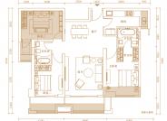 中骏悦景府A户型-101㎡ 3室2厅2卫1厨